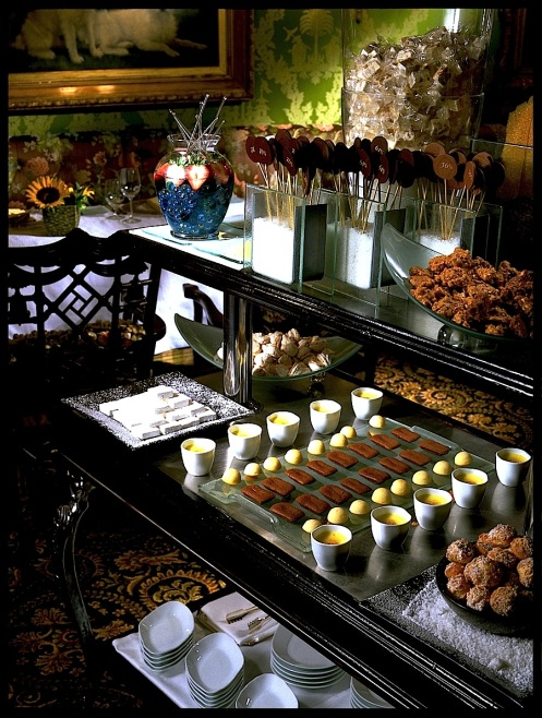 dining room petits fours
